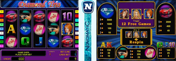 Игровые автоматы играть бесплатно без регистрации алмазное трио рулетка бесплатные деньги